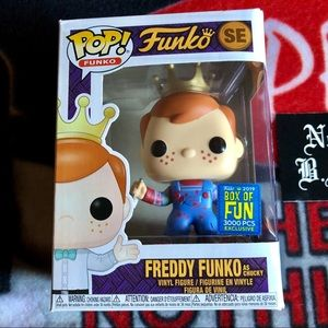 Funko Pop Freddy as Chucky With Blood new